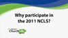 Why churches should take part in the 2011 National Church Life Survey