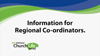 Information for regional co-ordinators